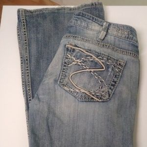 SilverJeans Size 31 inch Womens Frances Flare